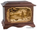 Mountain Lakes Burial Urn