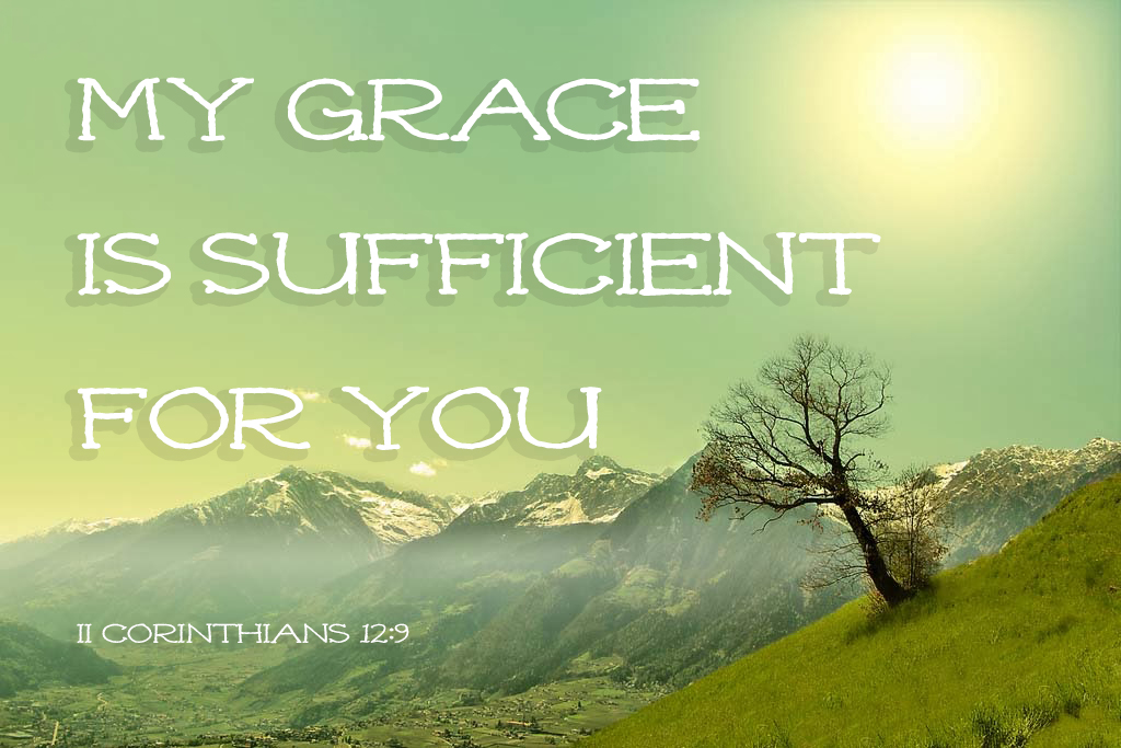 II Corinthians 12:9