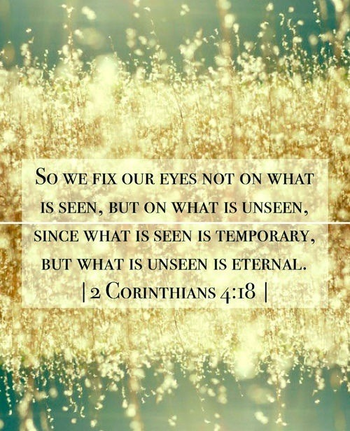II Corinthians 4:18