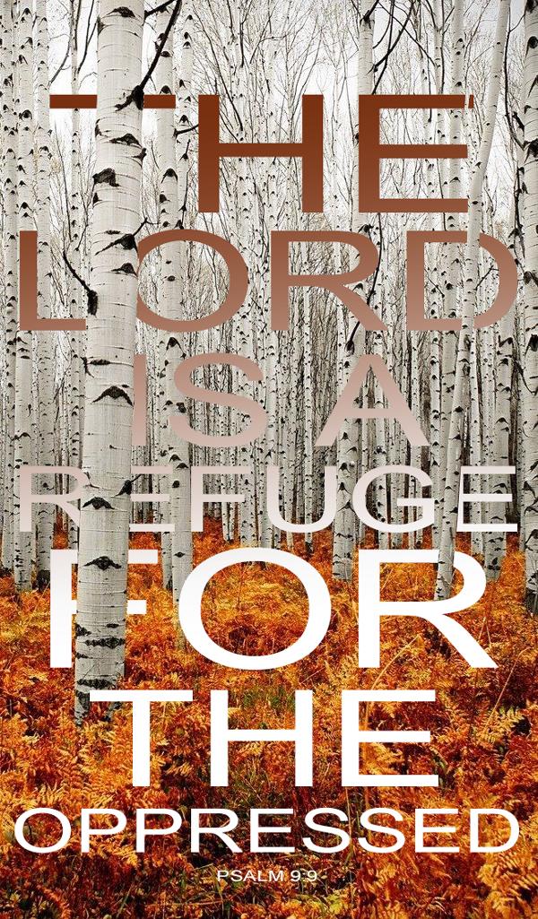 Psalm 9:9,
