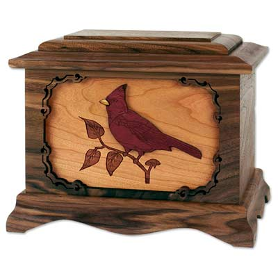 Cremation Boxes: Cardinal Urn