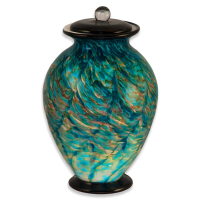 Glass Funeral Urns