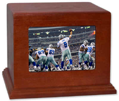 Dallas Cowboys Cremation Urn