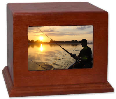 Fishing Photo Urn DIY