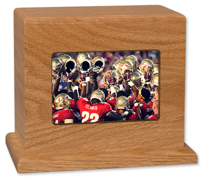 Florida State Football Cremation Urn