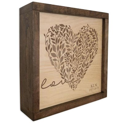 Heart Cremation Urn for Mothers