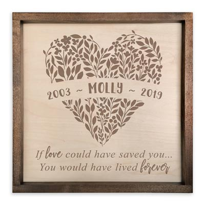 Personalized Sympathy Gift Plaque for Grieving Friend