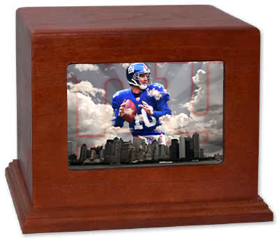 New York Giants Cremation Urn