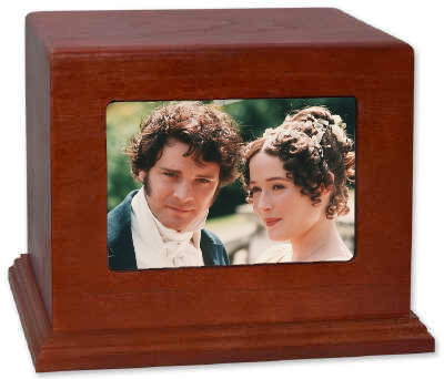 Pride and Prejudice Cremation Urn