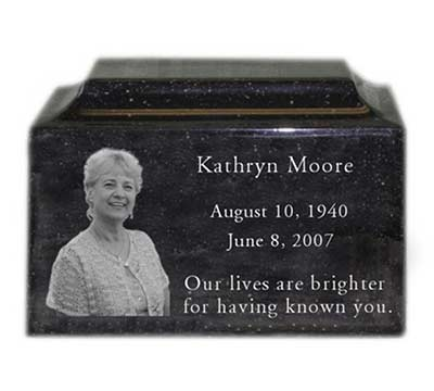 Cremation Urn for Mom with Photo